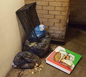 Disposal Of Refuse Bags