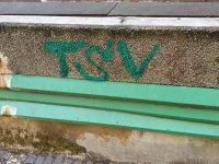 Graffiti on the estate