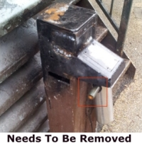 Broken GERDA Lock and Gate Are Broken – Repair – REF: 1341709/1